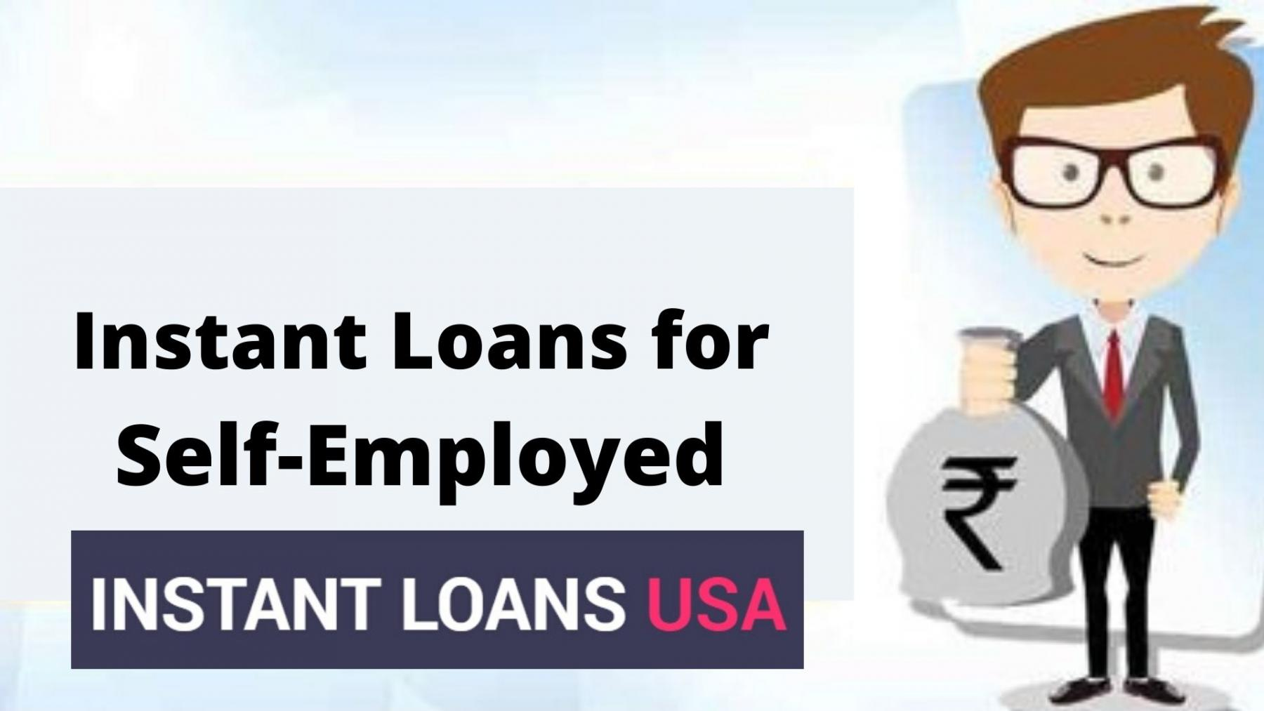 Instant Personal Loans for Self-Employed