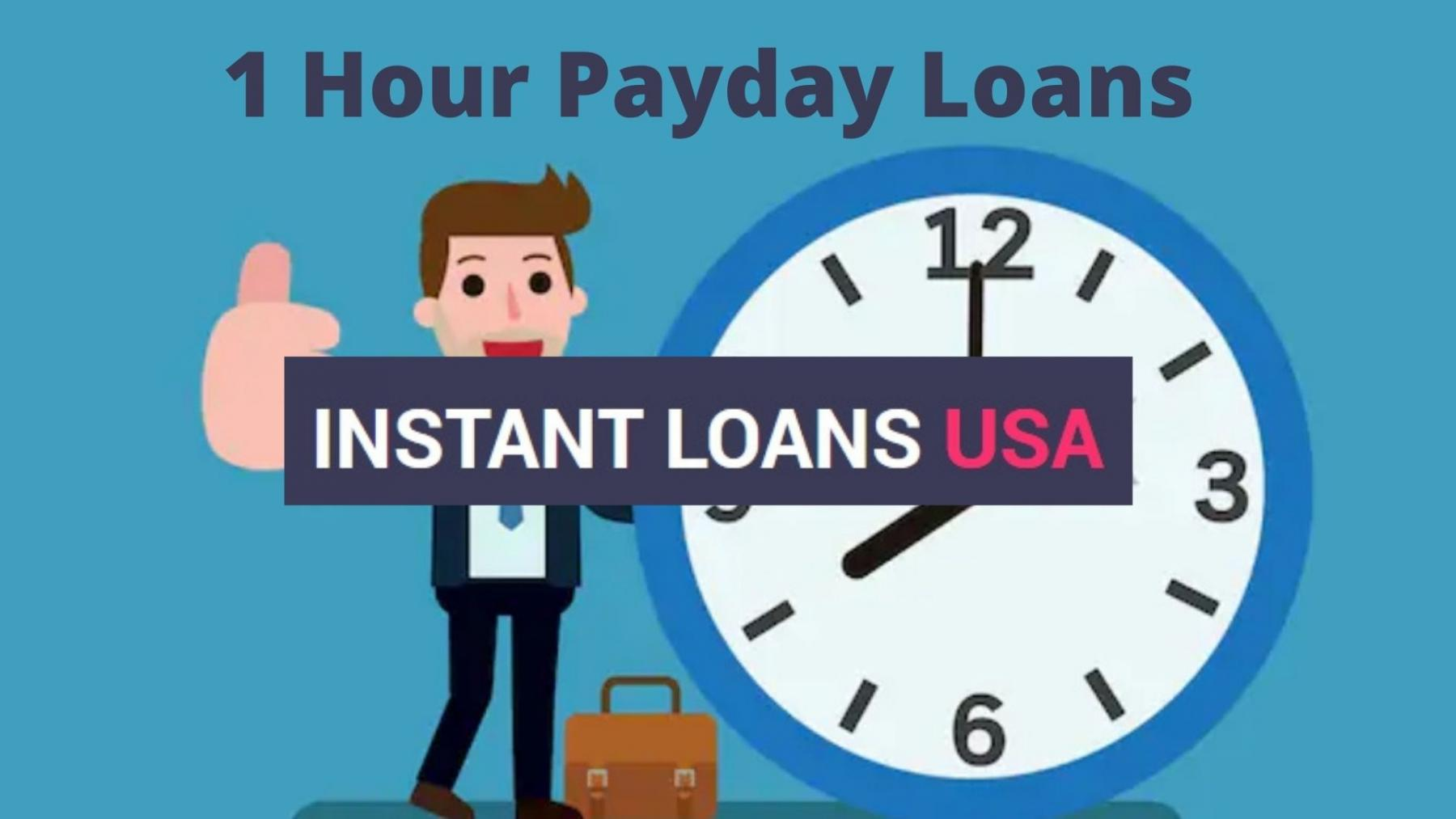 1 Hour Payday Loan