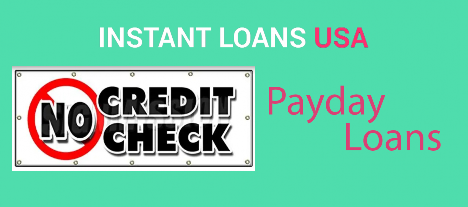 No Credit Check Payday Loan