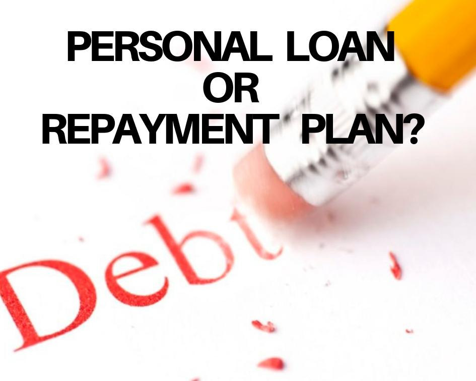 Personal Loan or Repayment Plan - how to reduce credit card debt